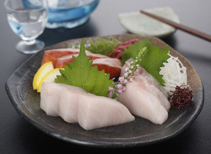 Sabelfish Sashimi